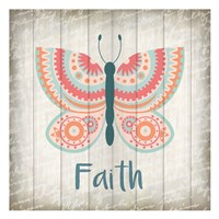 Butterfly Faith Fine Art Print