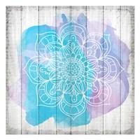 Watercolor Mandala 1 Fine Art Print