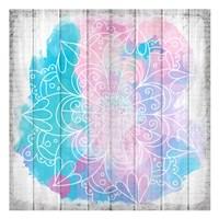 Watercolor Mandala 3 Fine Art Print