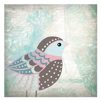 Paris Bird 1 Fine Art Print
