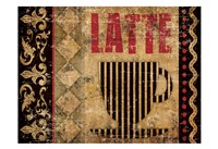 Latte Sipping 2 Fine Art Print