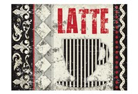 Latte Sipping 3 Fine Art Print