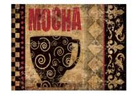Mocha Chocolat 2 Fine Art Print