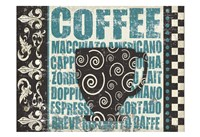 Caffeinated Expressions 2 Fine Art Print