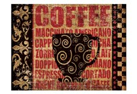Caffeinated Expressions 3 Fine Art Print