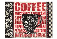 Caffeinated Expressions 1 Fine Art Print