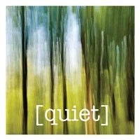 Calm Quiet Forest Fine Art Print