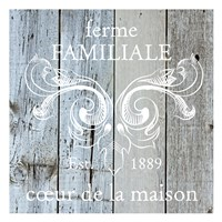 French Farmhouse 1 Fine Art Print