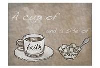 Cup Of Prayer Fine Art Print