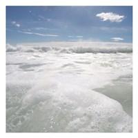 Bubbles In The Sea 1 Fine Art Print