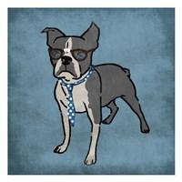 Nerdy Terrier Fine Art Print