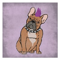 Rockin Frenchie Fine Art Print