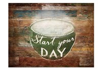 Start Your Day Fine Art Print