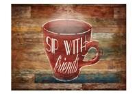 Sip With Friends Fine Art Print