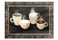 Row Of Coffee Fine Art Print