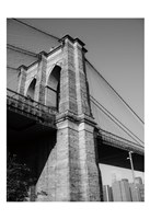 Beneath Brooklyn Bridge 1 Fine Art Print