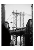 Manhattan Bridge 1 Fine Art Print