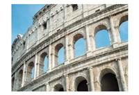 Roman Colosseum Arches Fine Art Print
