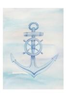 Coastal Anchor 1 Fine Art Print