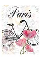 All Things Paris Framed Print