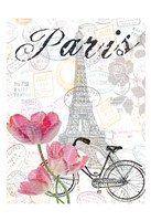 All Things Paris 2 Fine Art Print