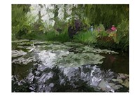Monet Pond 2 Fine Art Print