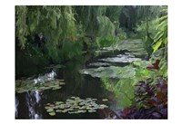 Giverny Pond Fine Art Print