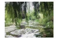 Monets Tranquil Gardens Fine Art Print