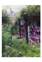 Gift Shop At Giverny Fine Art Print