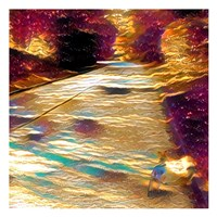 Shady View Walk Fine Art Print