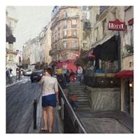 Streets of Paris Fine Art Print