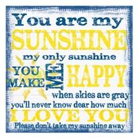 Sunshine 3 Fine Art Print