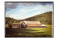 Country Barn 3 Vintage Fine Art Print