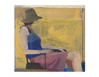 Seated Figure with Hat, 1967 Fine Art Print
