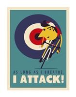 Attack Fine Art Print
