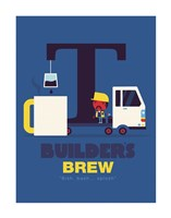 Builders Brew Fine Art Print