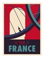 Tour de France Fine Art Print