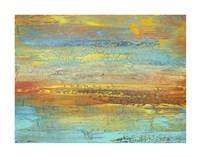 Golden Landscape Fine Art Print