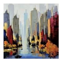 Urbania 90 Fine Art Print