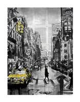 Brooklyn Cab Fine Art Print