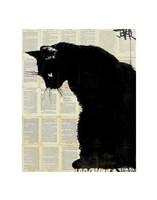 Black Cat Fine Art Print