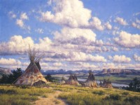 Blackfoot Country Fine Art Print
