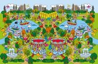 Dino Park Fine Art Print
