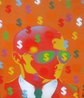 Cash Rules Fine Art Print