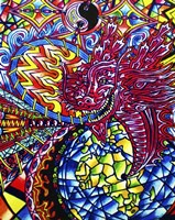 African Dragon Fine Art Print
