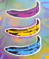 Banana Goes Pop Fine Art Print