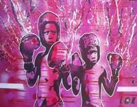 Boxers Guard Ya Grill Fine Art Print