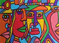 Chilean Faces Fine Art Print