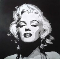 Hollywood icon Fine Art Print