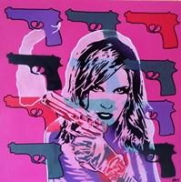 Revolver Pinks Fine Art Print